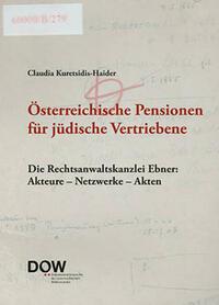 Österreichische Pensionen für jüdische Vertriebene