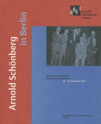 Arnold Schönberg in Berlin