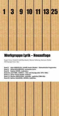 Werkgruppe Lyrik – Neuauflage