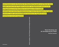 Marcel Duchamp und die Verweigerung der...