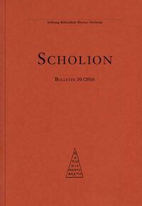 Scholion 10/2016