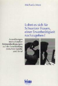 Lohnt es sich für Schweizer Frauen, einer...