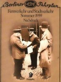 Berliner ABC Fahrplan 1939