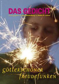 Das Gedicht. Zeitschrift /Jahrbuch für Lyrik, Essay und Kritik / DAS GEDICHT Bd. 19. Zeitschrift für Lyrik, Essay und Kritik