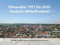 Klimareihe 1991 bis 2020 Ansbach (Mittelfranken)