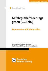 Gefahrgutbeförderungsgesetz (GGBefG)