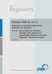 Merkblatt DWA-M 143-12 Sanierung von...