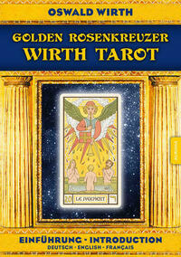 Golden Rosenkreuzer Wirth Tarot