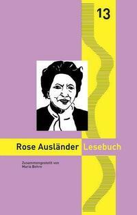 Rose Ausländer Lesebuch