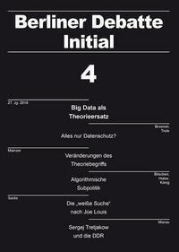 Big Data als Theorieersatz