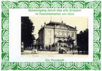 Spaziergang durch das alte Dresden in Ansichtskarten um 1900