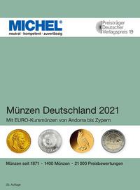 Münzen Deutschland 2021