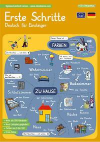 mindmemo Lernfolder - Erste Schritte - Deutsch für Anfänger - spielend Deutsch lernen
