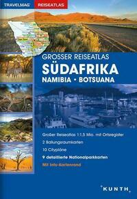 Großer Reiseatlas Südafrika / Namibia / Botsuana