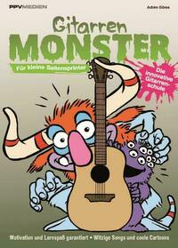 Gitarrenmonster - Für kleine Saitenflitzer