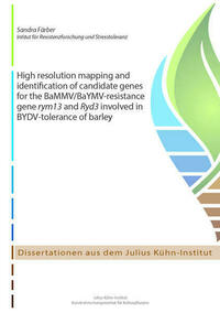 High resolution mapping and identification of candidate genes for the BaMMV/BaYMV-resistance gene rym13 and Ryd3 involved in BYDV-tolerance of barley