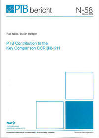PTB Contribution to the Key Comparison CCRE (III)-K11