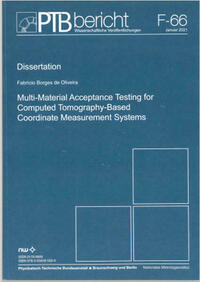 Multi-Material Acceptance Testing for Computed Tomography-Based Coordinate Measurement Systems