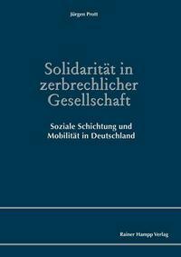 Solidarität in zerbrechlicher Gesellschaft