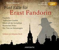 Fünf Fälle für Erast Fandorin (5 MP3-CDs)