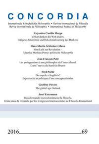 Concordia - Internationale Zeitschrift für Philosophie Heft 69