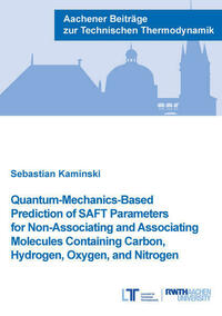 Quantum-Mechanics-Based Prediction of SAFT Parameters for Non-Associating and Associating Molecules Containing Carbon, Hydrogen, Oxygen, and Nitrogen