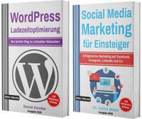 WordPress Ladezeitoptimierung für Einsteiger (Taschenbuch) + Social Media Marketing für Einsteiger (Hardcover)
