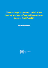 Climate change impacts on rainfed wheat farming and farmers' adaptation response