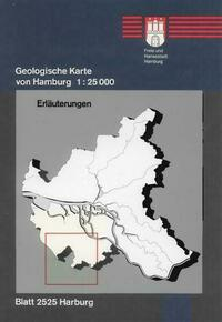 Geologische Karte von Hamburg - Blatt 2525 Harburg