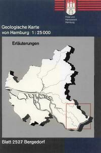 Geologische Karte von Hamburg - Blatt 2527 Bergedorf