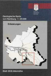 Geologische Karte von Hamburg - Blatt 2526 Allermöhe