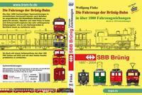 Die Fahrzeuge der Brünig Bahn in über 1000 Fahrzeugzeichnungen