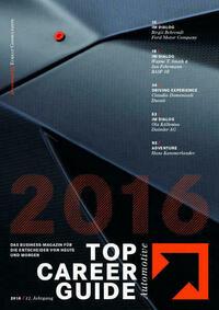 Top Career Guide Automotive 2016