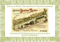Grüße aus der Sächsisch-Böhmischen Schweiz in historischen Ansichtskarten