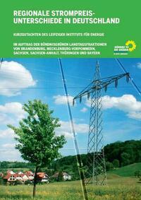 Regionale Strompreisunterschiede in Deutschland