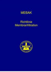 Richtlinie Membranfiltration