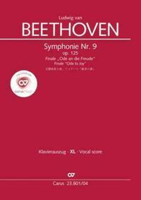 Symphonie Nr. 9. Finale (Klavierauszug XL zu allen gängigen Ausgaben)