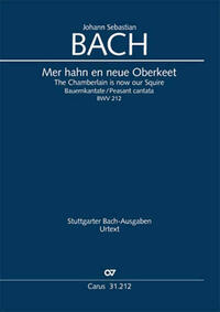Mer hahn en neue Oberkeet (Klavierauszug)