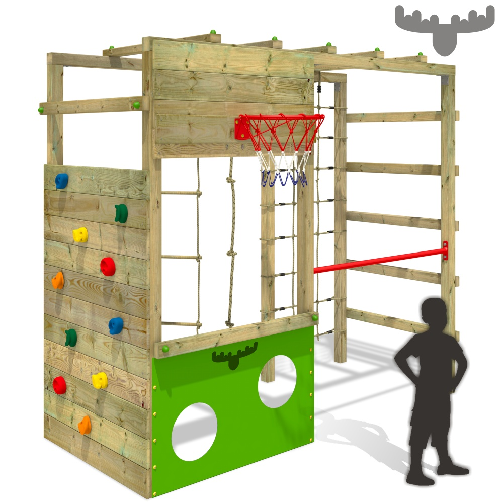 fatmoose cleverclimber club xxl aire de jeux tour d 39 escalade tour de jeux ebay. Black Bedroom Furniture Sets. Home Design Ideas