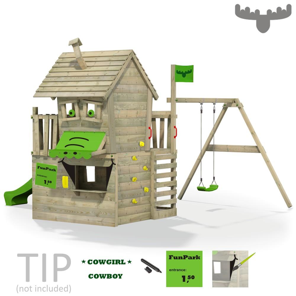 fatmoose countrycow maxi xxl spielturm kletterturm. Black Bedroom Furniture Sets. Home Design Ideas
