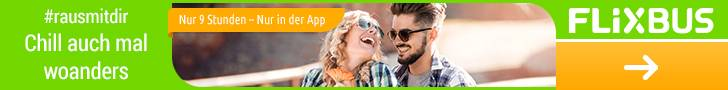 Für den Frugalismus ist Flixbus und Flixtrain ideal - sie sparen und sind trotzdem mobil!
