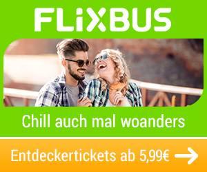 Fahrkarten von Flixbus kaufen