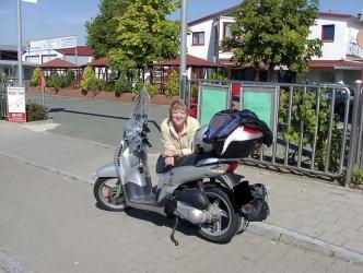 Roller  fahren