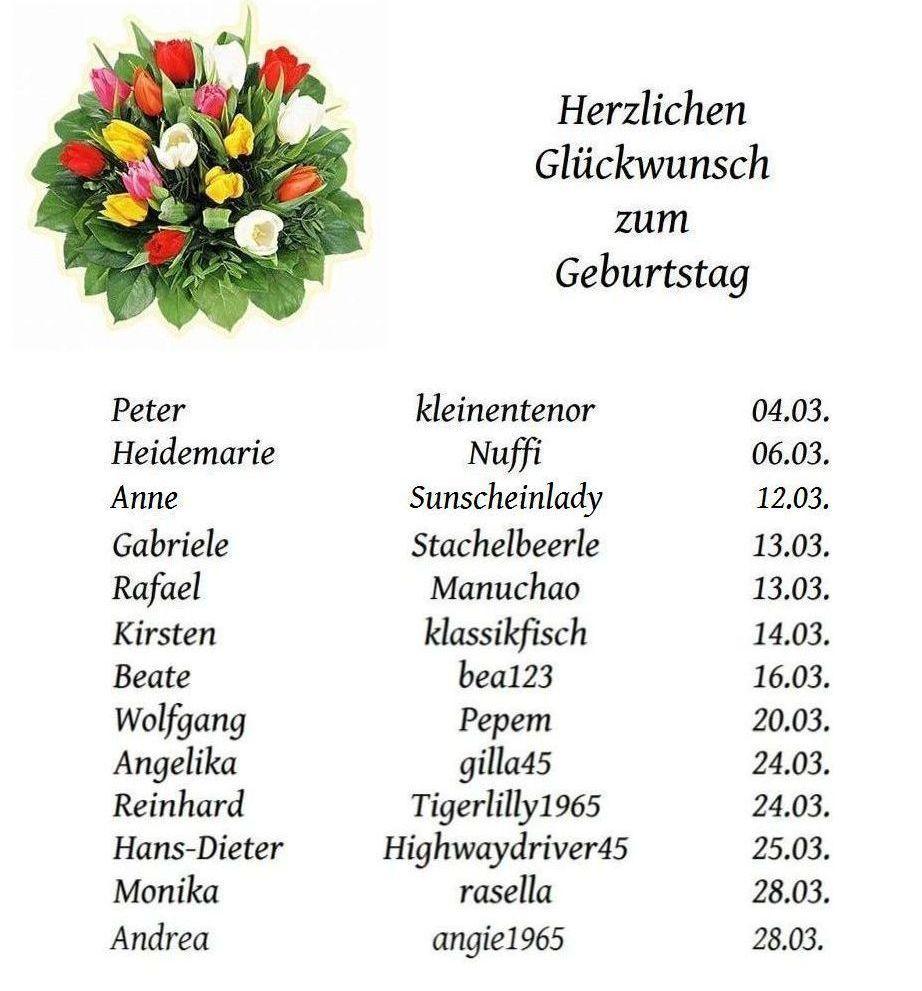 Geburtstagsliste nienburg - regional