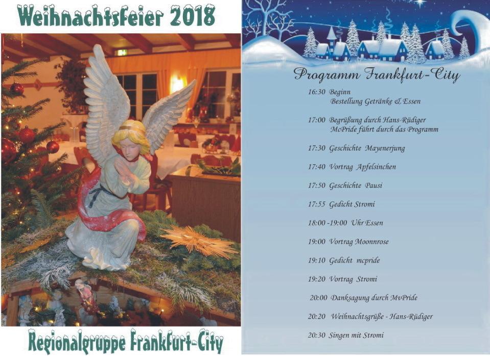 Weihnachtsfeier Begrüßung.21 Weihnachtsfeier 18 12 2018 03 Veranstaltungen 2018