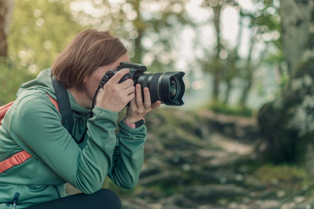 Landschaftsfotografin