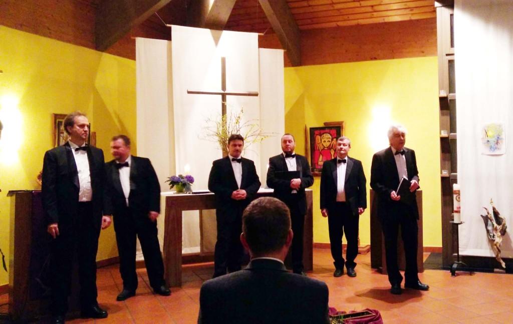 Konzert des Kammerchores aus St. Petersburg