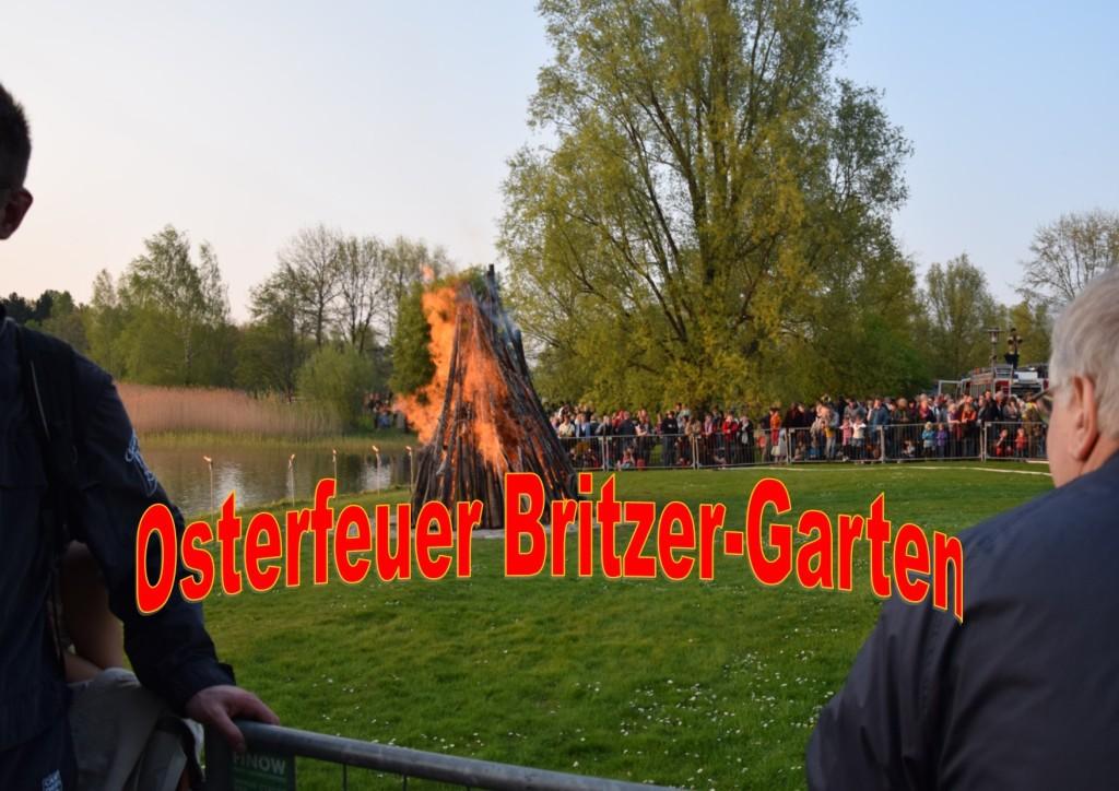 Osterfeuer Britzer Garten