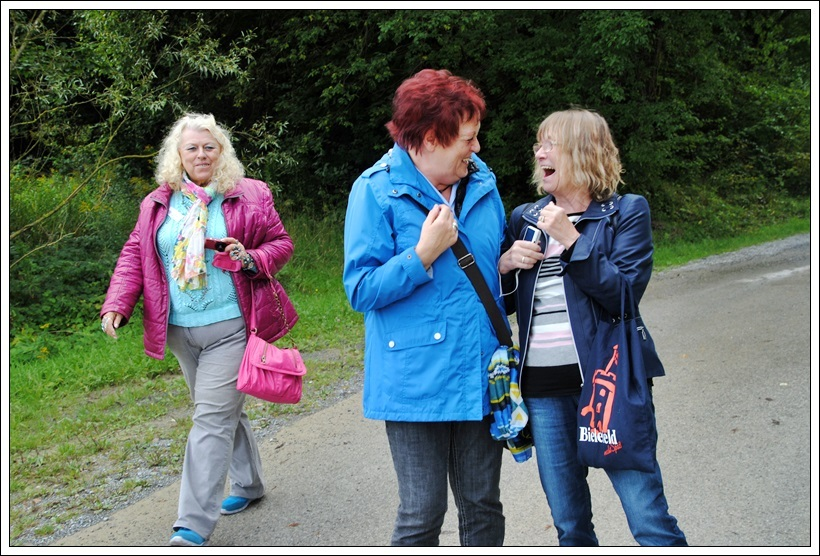 Inge, Rita und Evi