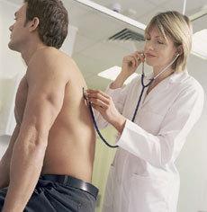 Mann beim Arzt, bild boehringer